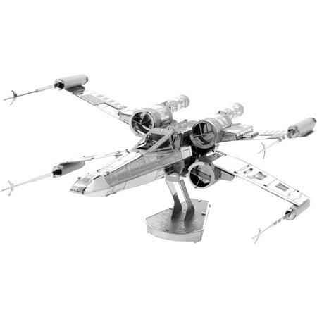 (Metal Earth 3D Laser-Cut Model, Star Wars X-Wing Starfighter)