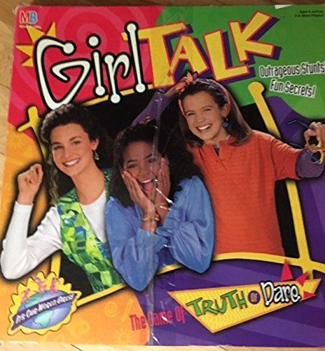 Milton Bradley Girl Talk: The Game of Truth or Dare 1995 ...