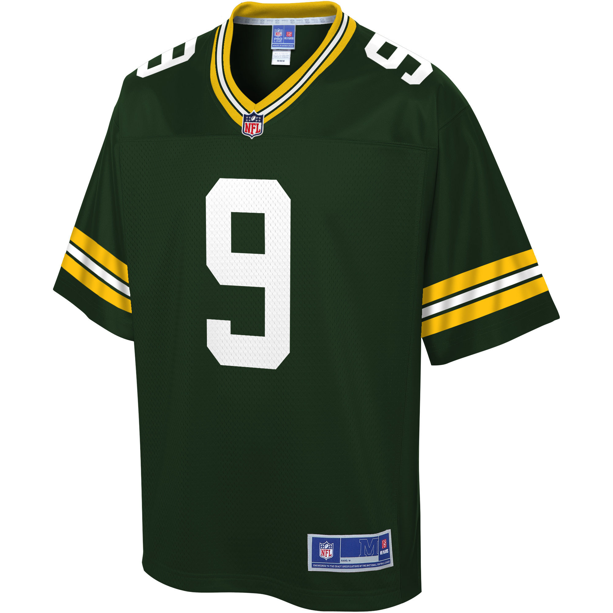 NFL Pro Line Youth Green Bay Packers DeShone Kizer DS Green Team Color Player Jersey