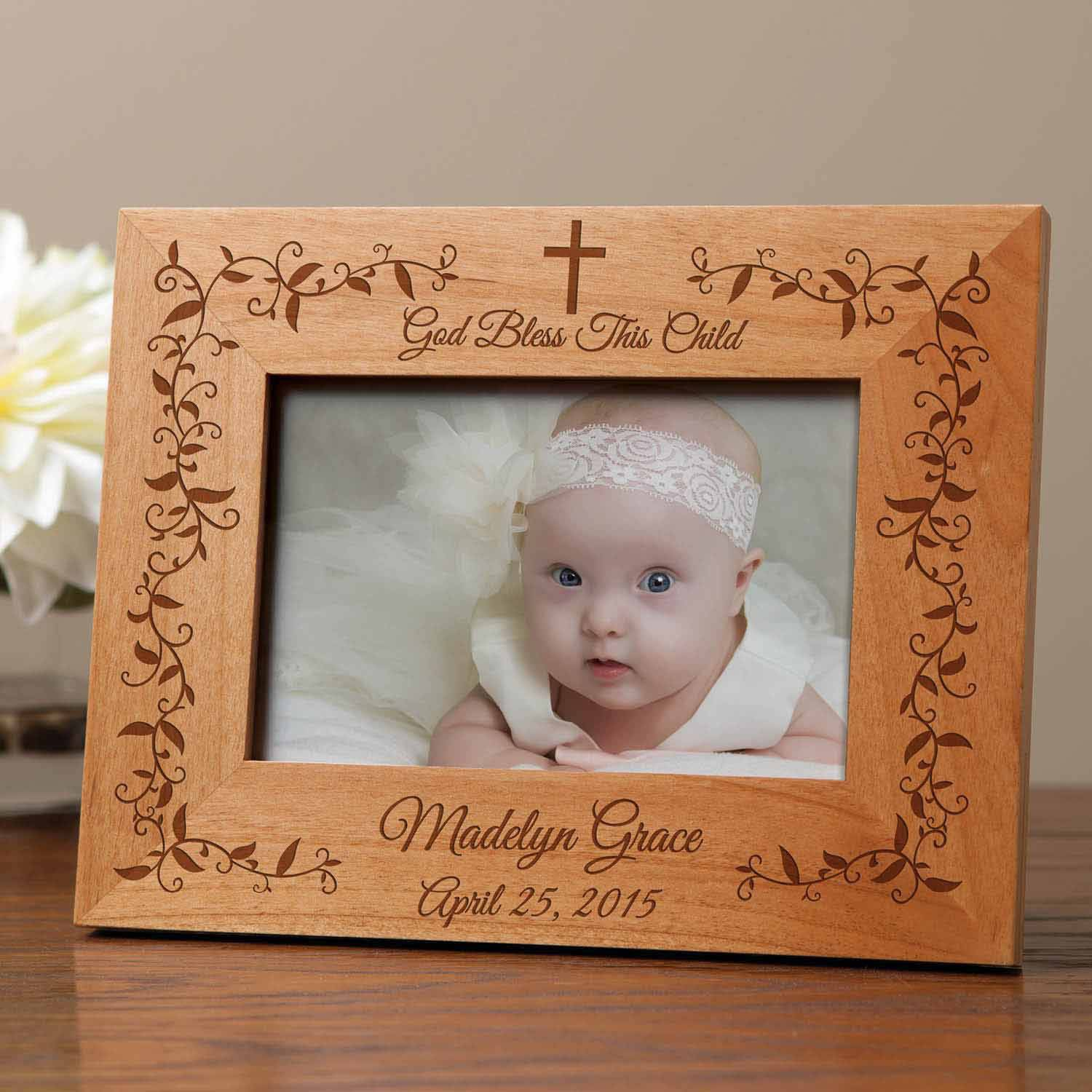 Personalized God Bless This Child Frame