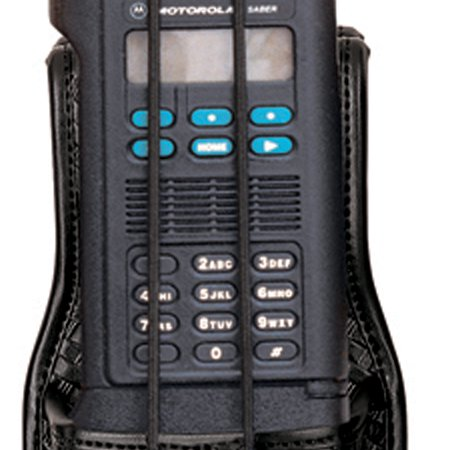 Safariland 7914S Universal Radio Holder With Swivel B/W