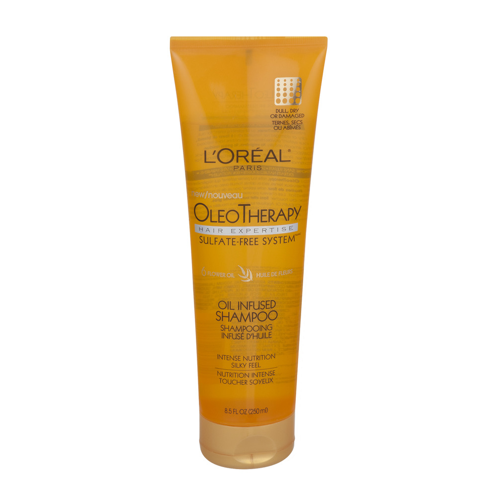 L'Oreal Paris OleoTherapy Oil Infused Shampoo, 8.5 FL OZ