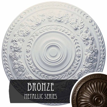 33 1 8 OD x 3 1 2 ID x 1 3 8 P Leandros Ceiling Medallion Fits Canopi