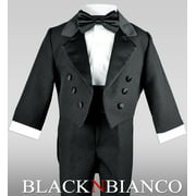Little Boys Black Tuxedo with a Tail