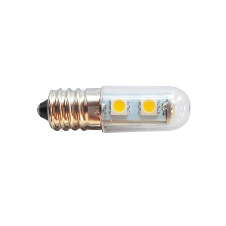 E14 Fridge Light Mini LED Refrigerator Lamps 5050 SMD 1W Crystal Chandelier 220V Pendant Spotlight Corn Bulbs