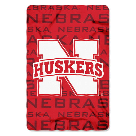 "NCAA - Nebraska Cornhuskers , ""Shadow"" 40""x 60"" Fleece Throw"