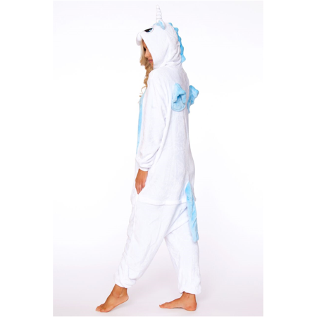 White Unicorn Adult Onesie - Unicorn Onesie For Adults