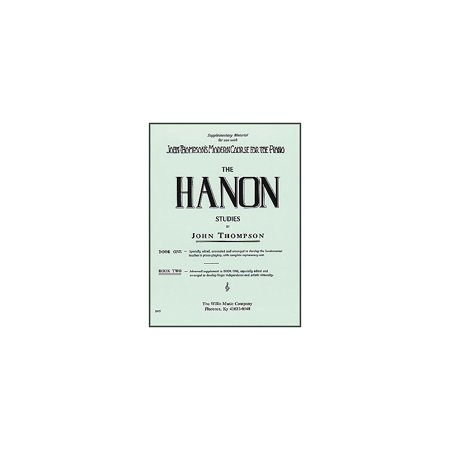 Willis Music Hanon Studies Book Two Mid-Intermediate Level - Intermediate Piano Music