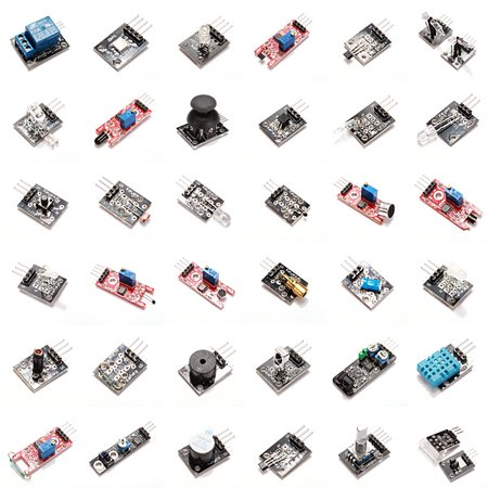 37 In 1 Sensor Module Board Set Kit For Arduino Plastic Bag Package (Sensor Module)