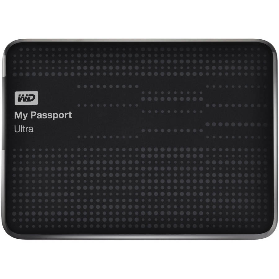 WD My Passport Ultra 2TB Portable External Hard Drive, Assorted Colors