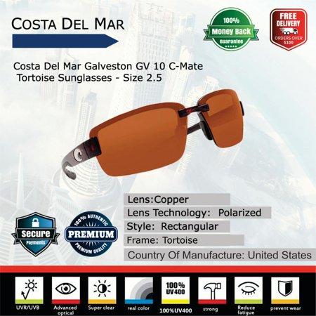 95c42138353 Costa Del Mar - Costa Del Mar Galveston C-Mate Tortoise Sunglasses ...