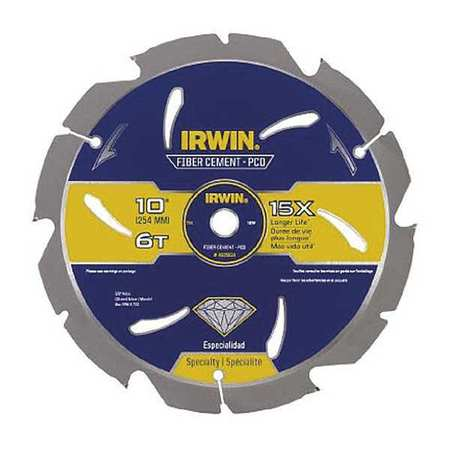 IRWIN 4935624 Saw Blade, Steel, 10in, 6Teeth by Irwin