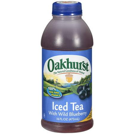 Oakhurst With Wild Blueberry Iced Tea, 16 Oz  - Walmart com