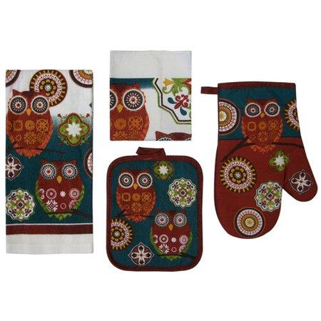 Mainstays Owl  Piece Kitchen Set