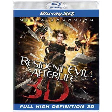 Resident Evil  Afterlife  3D   Blu Ray   Widescreen