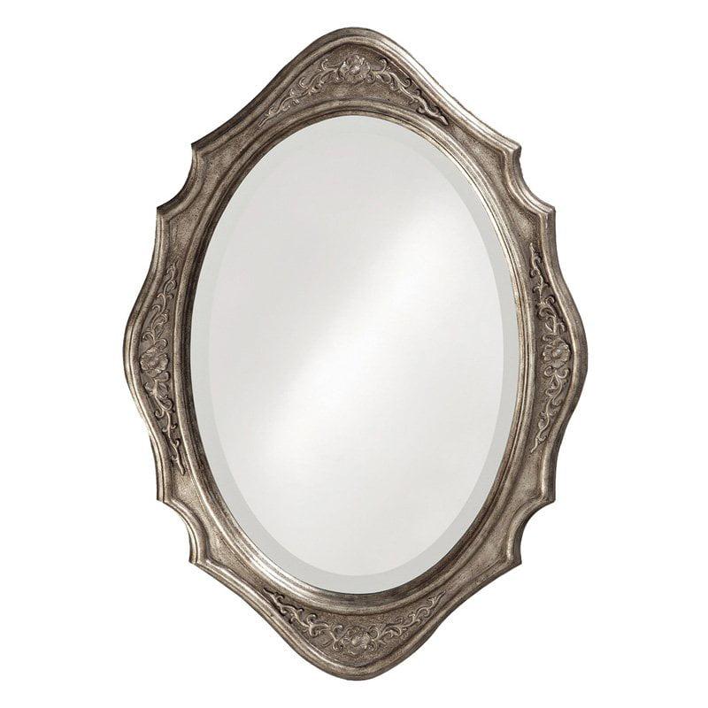 Elizabeth Austin Trafalga Decorative Oval Mirror 19W x 27H in. by Howard Elliott