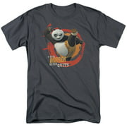 Kung Fu Panda Real Warrior Mens Short Sleeve Shirt