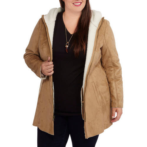 Faded Glory Women's Plus-size Faux Suede