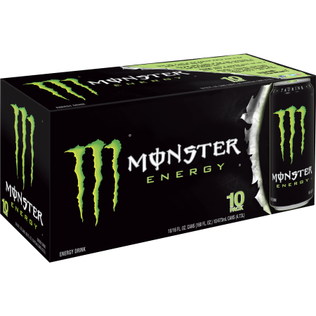 Monster Original Energy Drink, 16 Fl  Oz , 10 Count