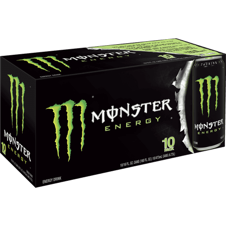 Enjoyable Monster Original Energy Drink 16 Fl Oz 10 Count Andrewgaddart Wooden Chair Designs For Living Room Andrewgaddartcom
