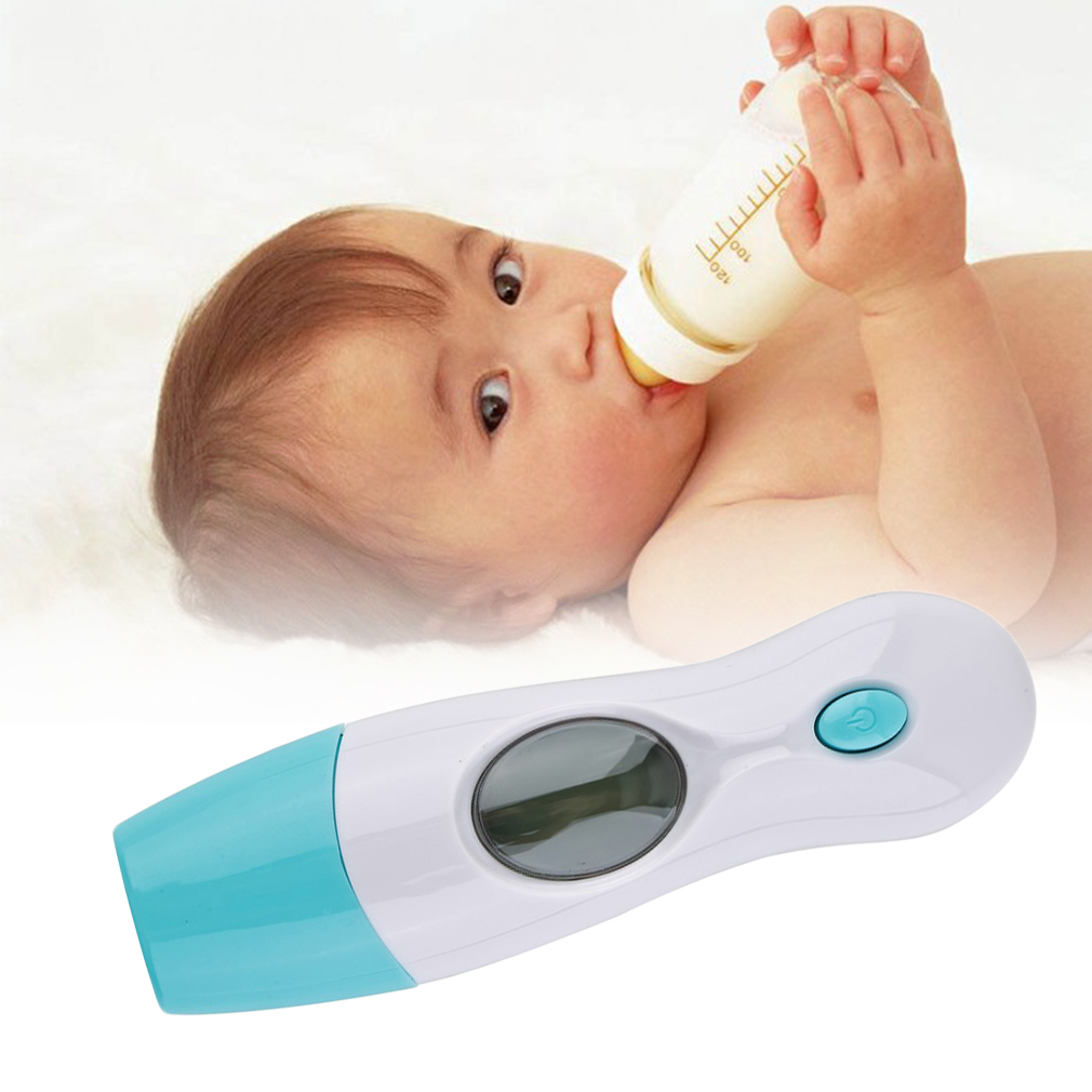 Professional Digital LCD Infrared Thermometer Ear & Forehead 8 in 1 for Baby Child Family Electronic Thermometer