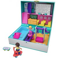 Polly Pocket Mini Middle School Compact with Dolls & Accessories