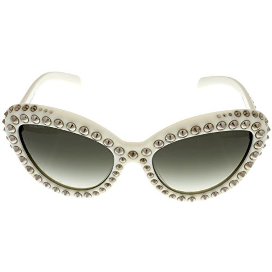b33b42446c Prada - Prada Sunglasses Women Ivory Cateye PR31QS 7S30A7 Size  Lens ...