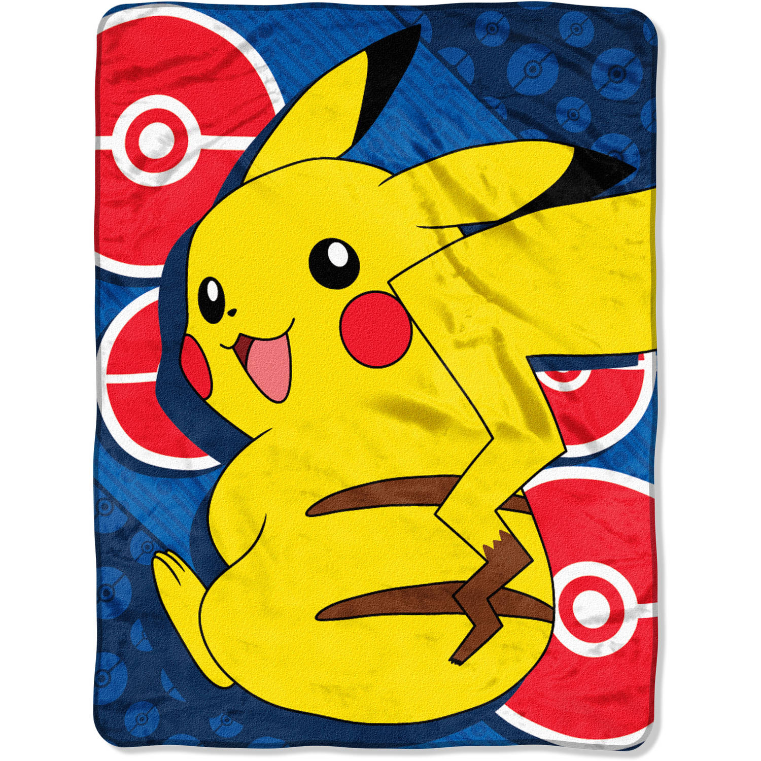 "Pokémon He Is Electric 46"" x 60"" Micro Raschel Throw, 1 Each"