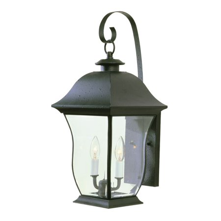 Trans Globe Lighting 4971 Two Light Up Lighting Outdoor Wall Sconce from the Outdoor (Trans Globe Traditional Sconce)