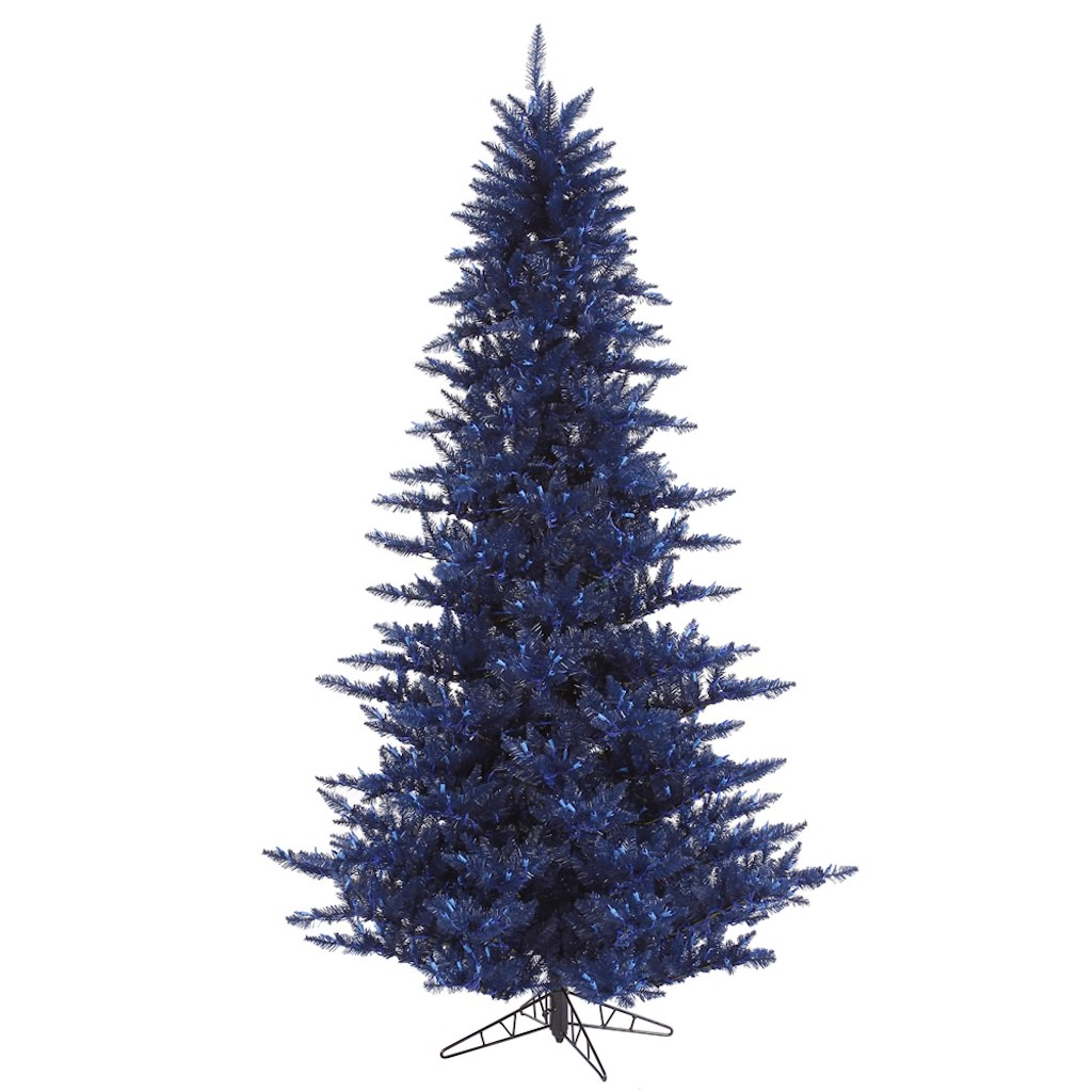 "Vickerman 324808 - 10' x 68"" Navy Blue Fir Christmas Tree (K120685)"