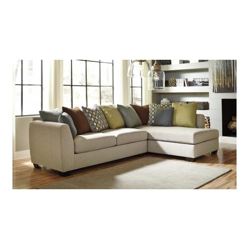 Benchcraft Casheral 82901-17-66 Sectional Sofa with Right Arm Chaise Left Arm Sofa  sc 1 st  Walmart : one arm chaise sofa - Sectionals, Sofas & Couches