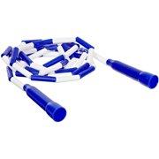 School Smart 9' Plastic Links Jump Rope, Blue