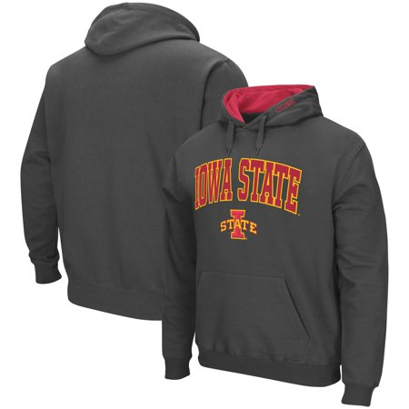 Iowa State Cyclones Colosseum Arch & Logo Pullover Hoodie - Charcoal (Iowa State Sweatshirt Youth)