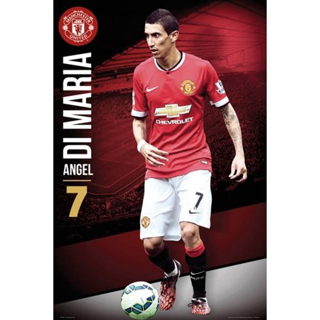 Manchester United Di Maria 14/15 Poster - 24x36 ()