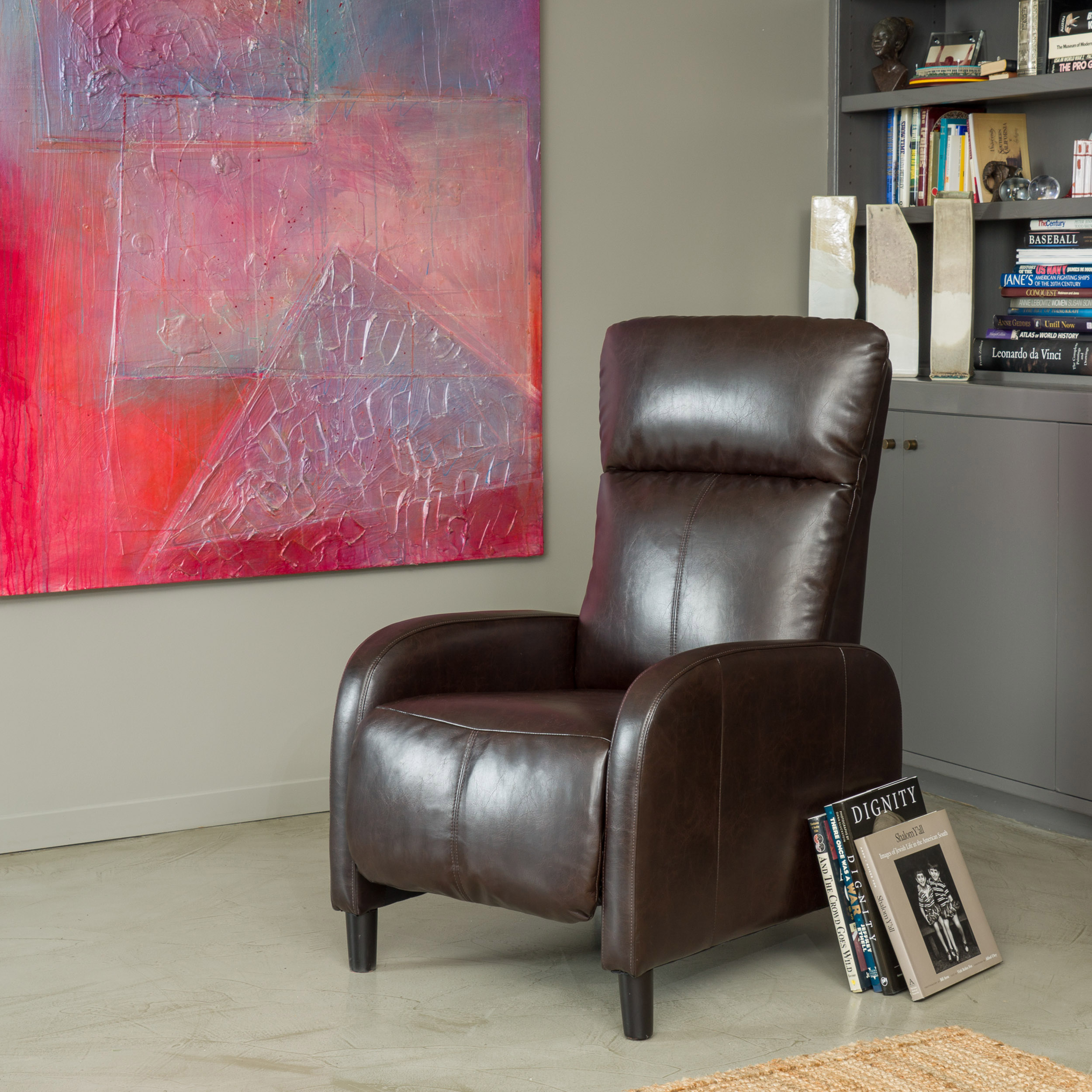 Stratton Reclining Club Chair