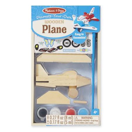 Owl Crafts For Preschoolers (Melissa & Doug Decorate-Your-Own Wooden Plane Craft)
