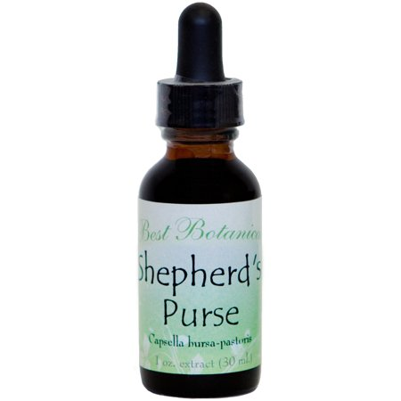 Best Botanicals Shepherd's Purse Extract 1 oz. Best French Grape Extract