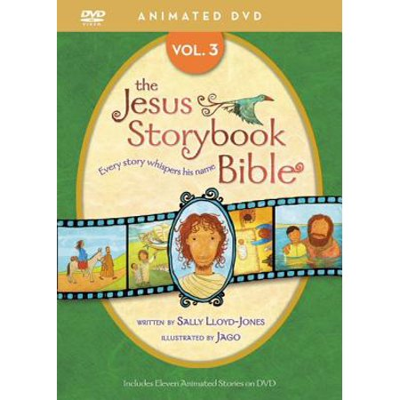 Jesus Storybook Bible Animated DVD, Vol. 3](Animated Halloween Stories Online)