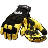 Ansell 97977M ProjeX Heavy Duty Leather Work Gloves, Medium
