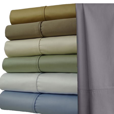 Extra Deep 22 inch Pocket 1000 Thread Count Solid 100% Long Staple Cotton Sheets