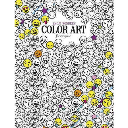 Wonders Color Art For Everyone Adult Coloring Book