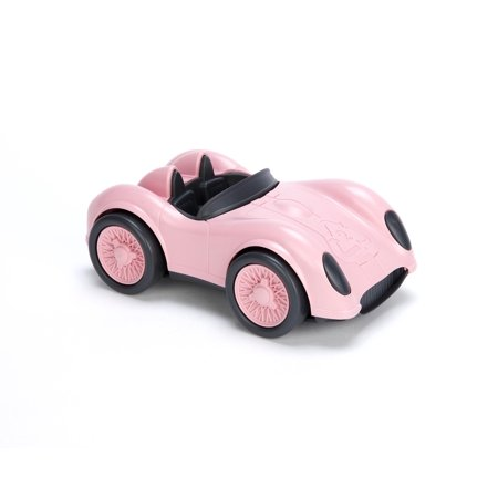Green Toys Race Car - Pink - Green Racing Car