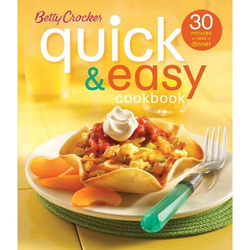 BETTY CROCKER QUICK & EASY COOKBOOK [9780471997962]