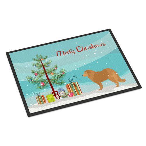 The Holiday Aisle Caucasian Shepherd Dog Door Mat