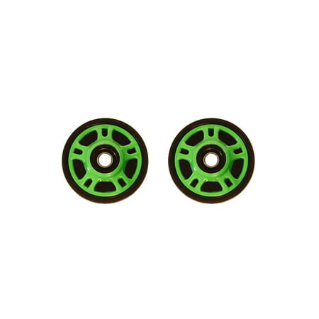 PDD Front Rail Neon Green Idler Wheels Kit for Snowmobile ARCTIC CAT 4 Stroke Touring (2002 Arctic Cat 660 4 Stroke For Sale)