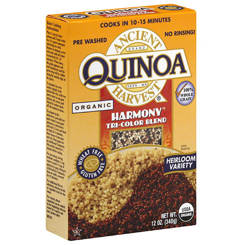 Ancient Harvest Harmony Tri-Color Blend Quinoa, 12 oz (Pack of 12)