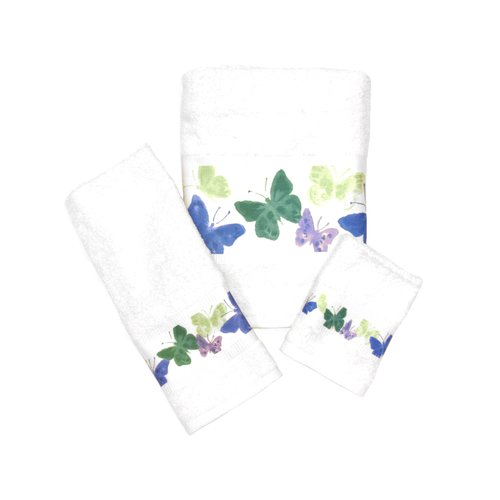 Mainstays Butterfly Washcloth