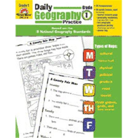 Evan-Moor Emc3710 Daily Geography Practice Grade 1
