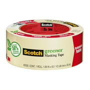 Scotch General Purpose Masking Tape, 1.88 in x 60.1 yd, 1 Roll/Pack