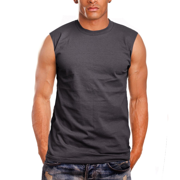 Men/'s Sport Compression Bodybuilding Gym Loose Fit Muscle Cut Stringer Tank Tops